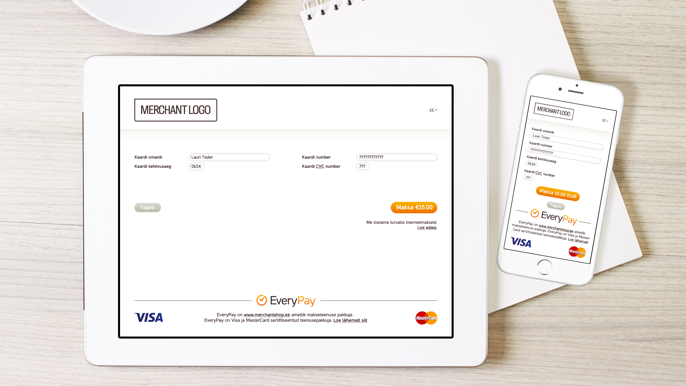 payment solutions - redirect payment page