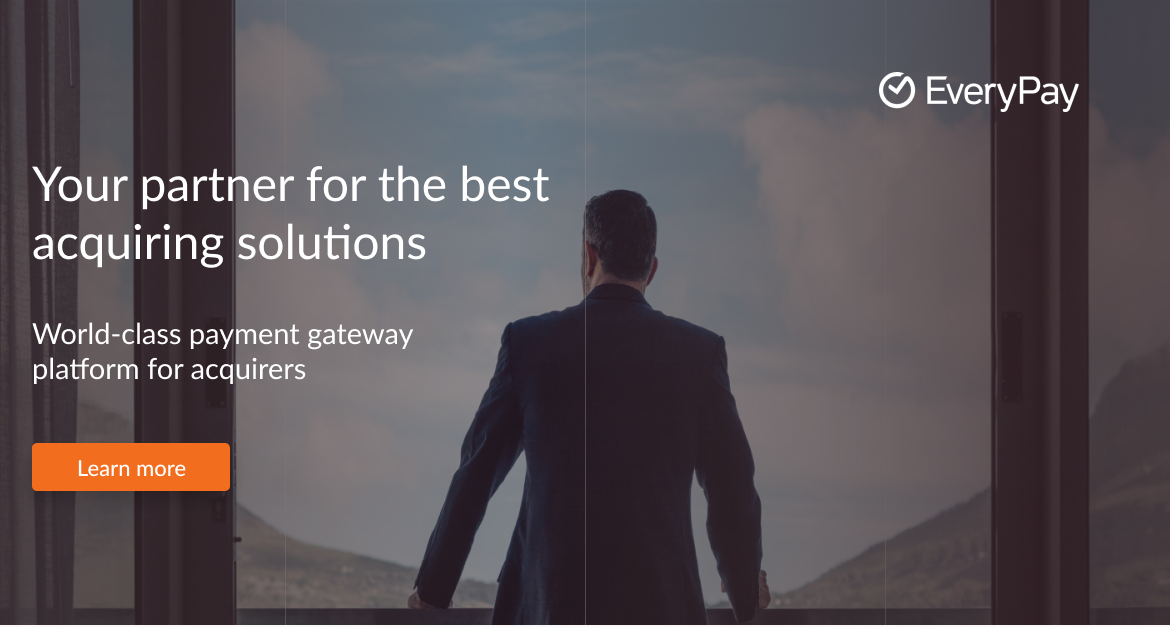 Payment gateway platform as a managed service | EveryPay AS